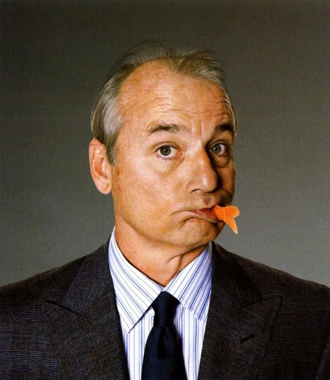 Comediante Bill Murray