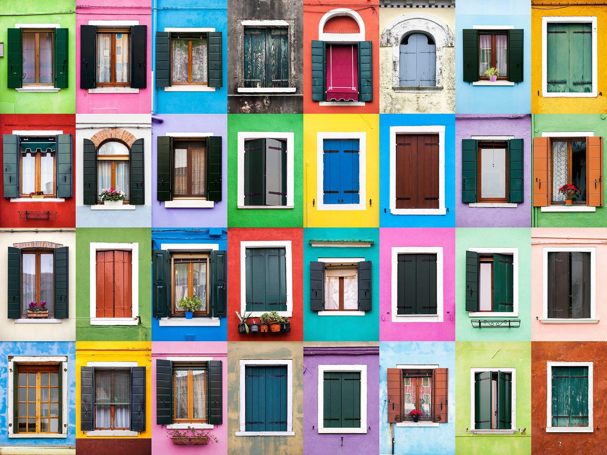 11 fotos de puertas y ventanas del mundo por andr vicente - Quadri con finestre ...
