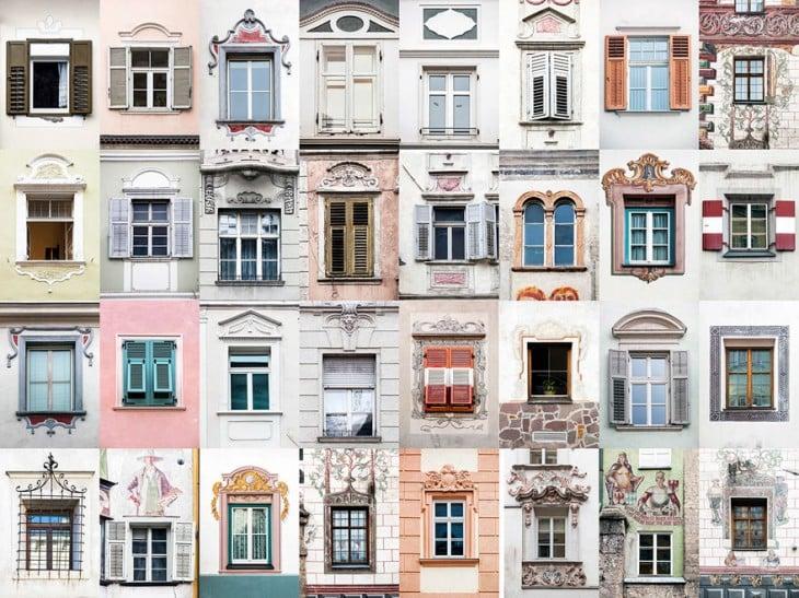 El fotógrafo portugués,  André Vicente Goncaves, muestra la belleza de puertas y ventanas alrededor del mundo