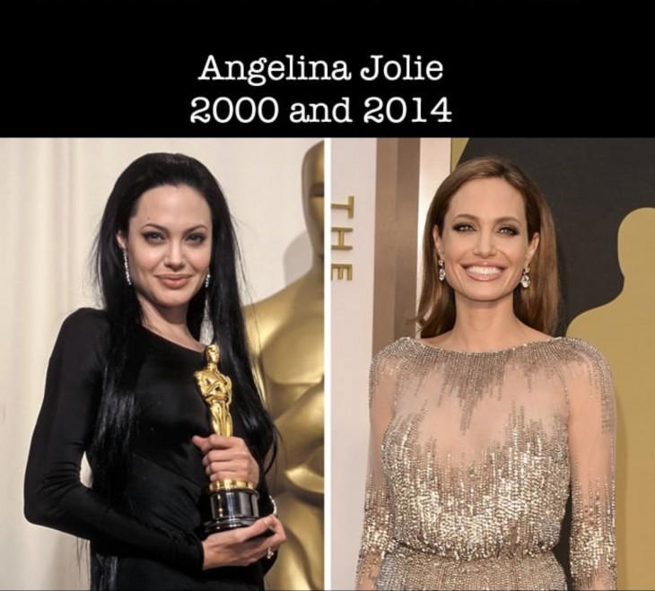 Antes y después de Angelina Jolie en las nominaciones a los premios Óscar