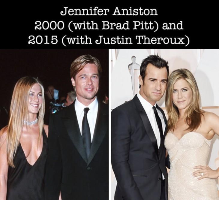 Jennifer Aniston en su primer nominación a los premios Óscar