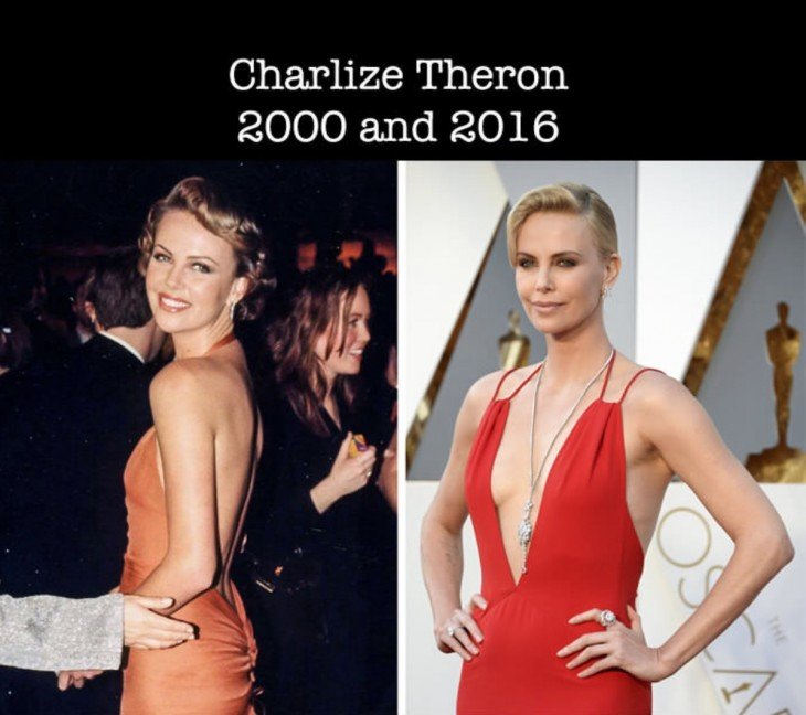 Charlize Theron en su primer nominación al óscar