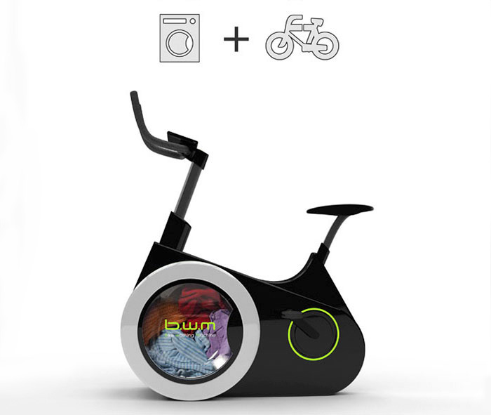 Bike Washing Machine, la bici que lava la ropa mientras haces ejercicio diseñada por estudiantes en una universidad en China