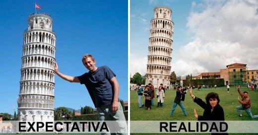 Lugares turísticos del mundo expectativa y realidad
