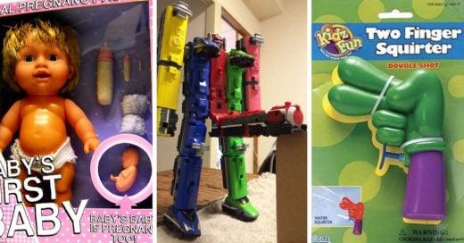 Juguetes que traumatizaron la infancia