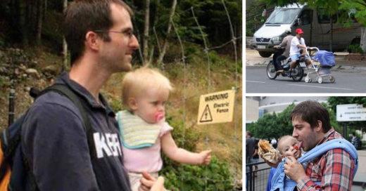 papás que no deberían quedarse solos con sus bebés