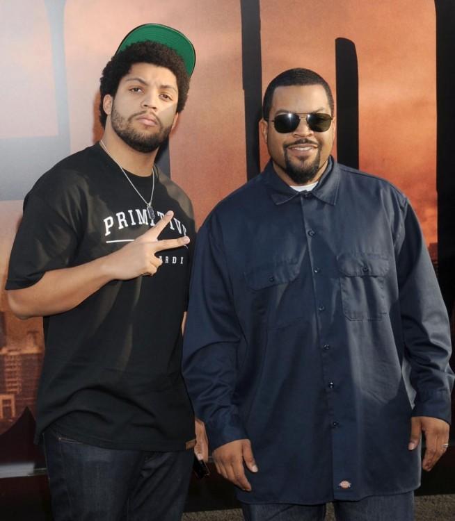 Ice Cube y su hijo O´Shea Jackson Jr.