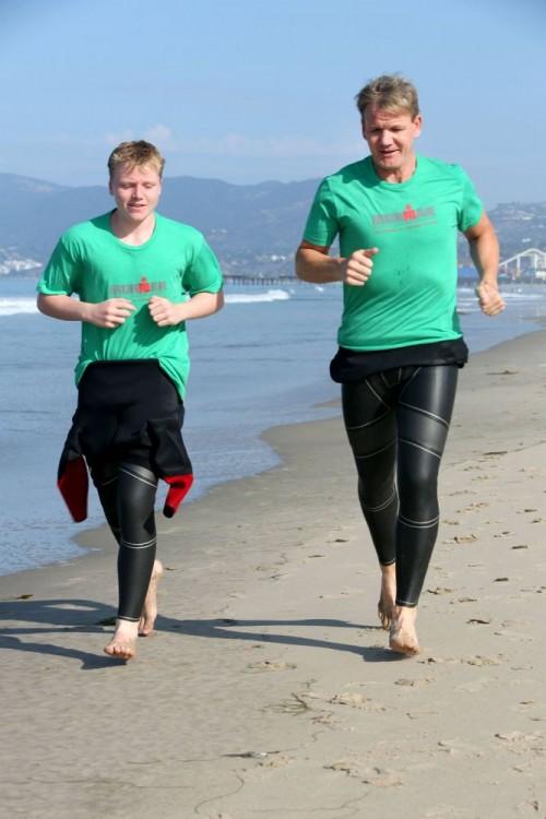 Gordon Ramsay y su hijo Jack