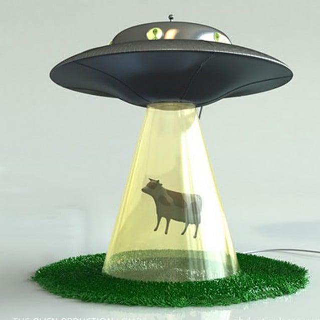 Lámpara de ovnis