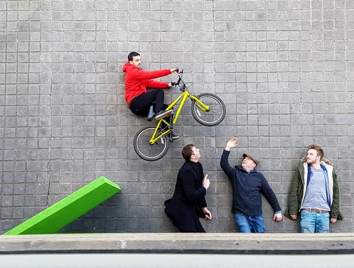 Revela el secreto de la foto de la bicicleta