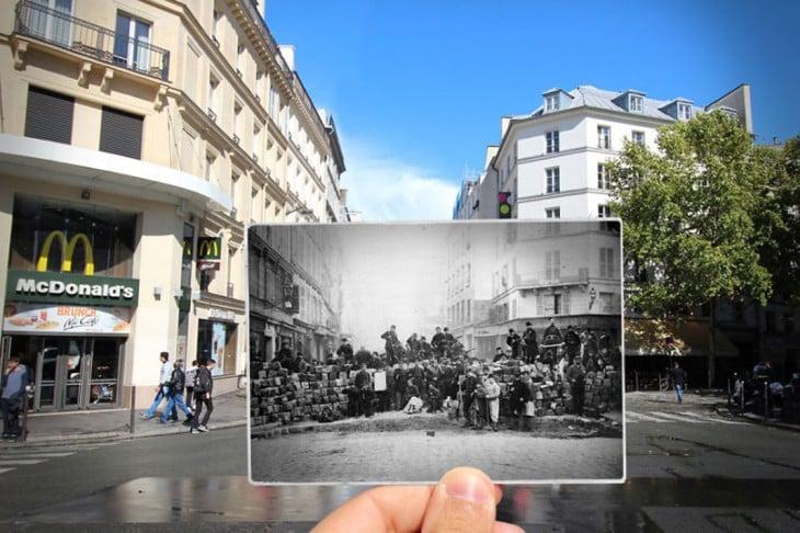 foto actual del Templo Rue du Faubourg-du, 1871