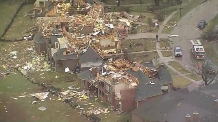 Captura de video muestra la casa demolida en Dallas, Texas por un error de Google Maps