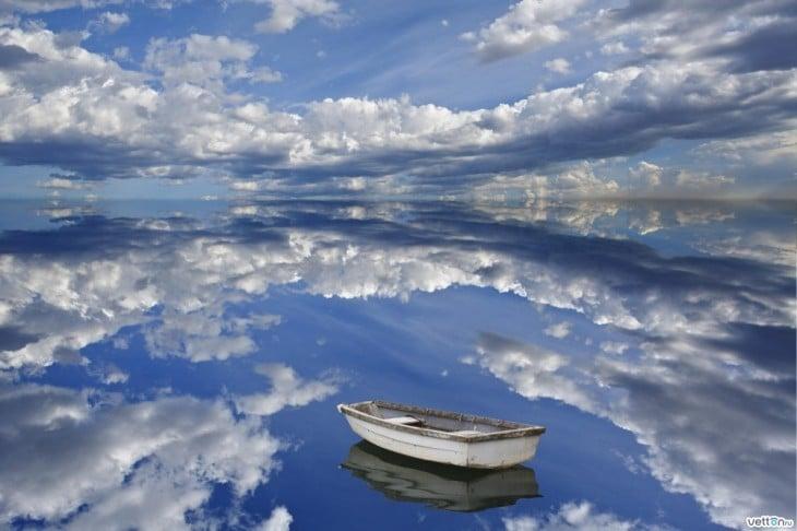 Fotografía del famoso El Salar de Uyuni
