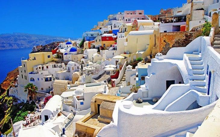 Calles de Santorini, en Grecia