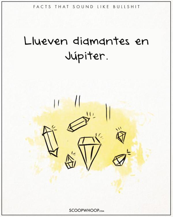 EN JUPITER LLUEVEN DIAMANTES