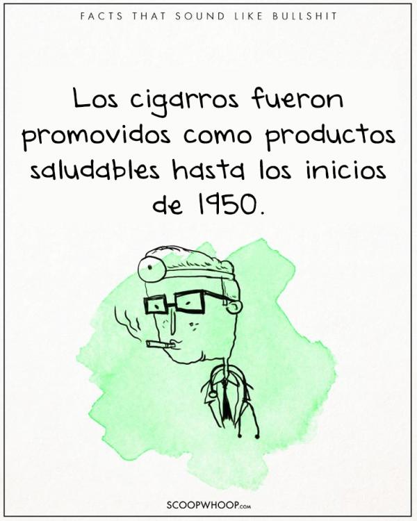 LOS MÉDICOS RECOMENDABAN FUMAR