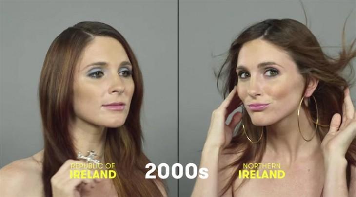 mujeres irlandesas 2000's