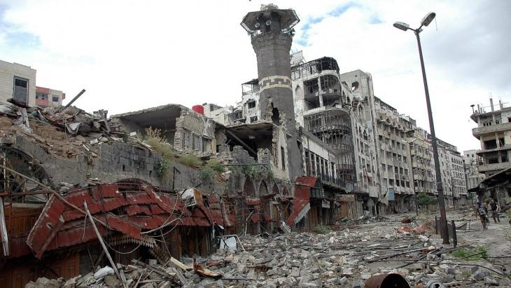 Así se ve Homs, Siria desde un DRON: 5 años después de haber iniciado la guerra
