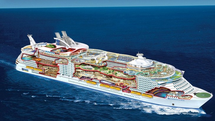 Harmony of the Seas para la empresa de cruceros Royal Caribbean International.