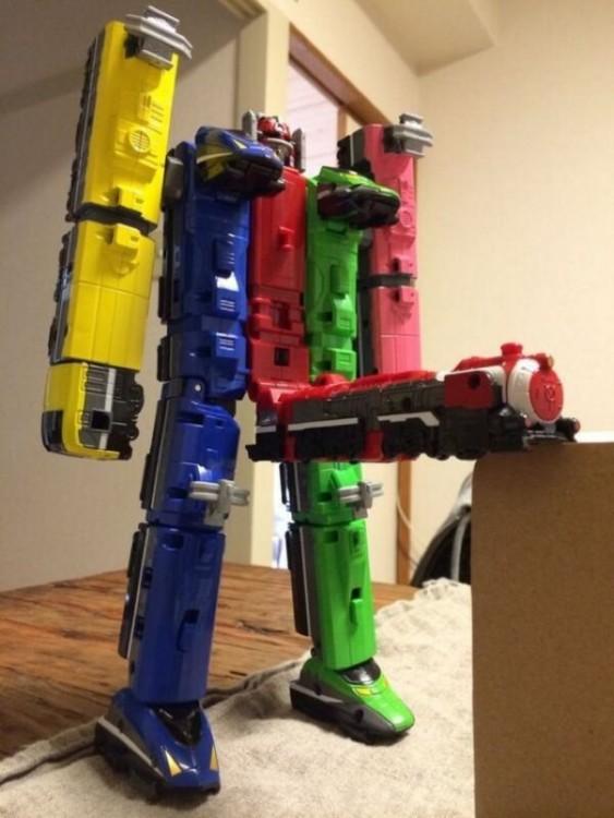 Transformer de legos