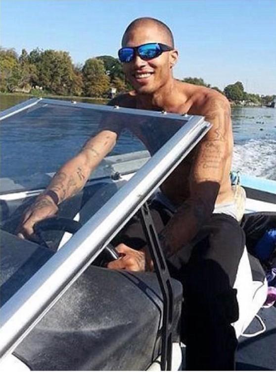 Jeremy Meeks, el preso más atractivo del mundo salió libre