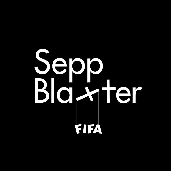 logotipo de la palabra sepp blaxter fifa