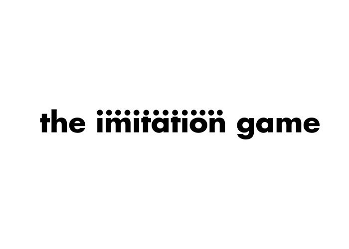 logotipo de la palabra the imitation game