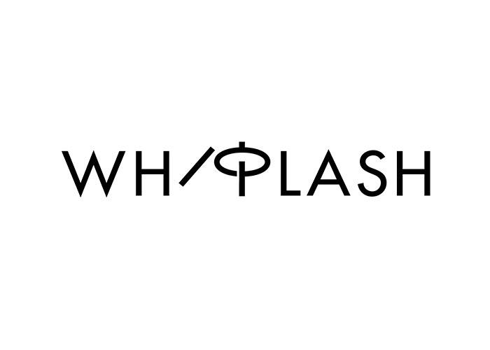 Ji lee creo el logotipo de la palabra WHi plash