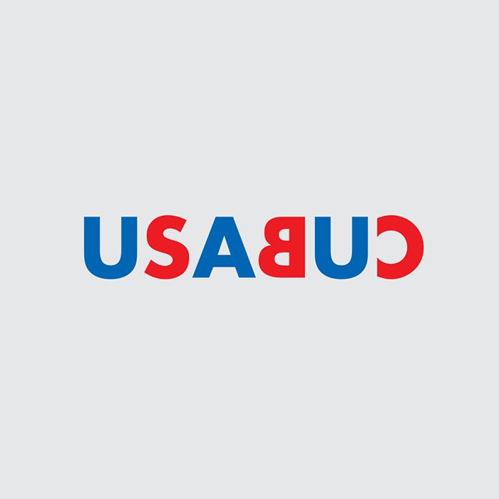 logotipo con las palabras USA y CUB
