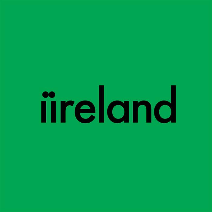 logotipo de la palabra iireland