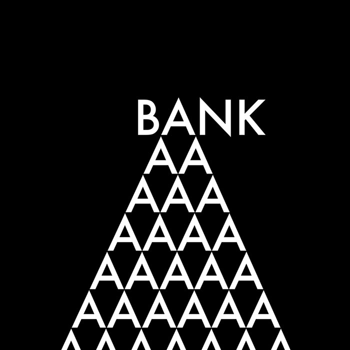 logotipo de la palabra bank