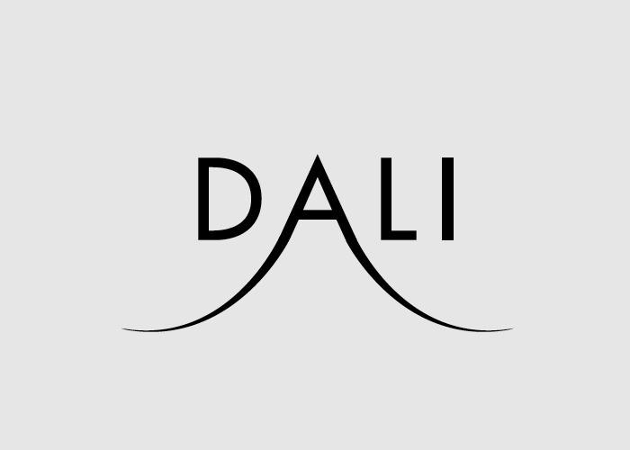 caligrama con la palabra Dali