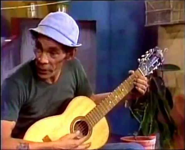 Don Ramón como cantante
