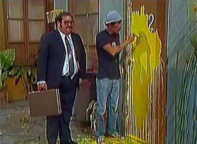 escena de Don Ramón como pintor