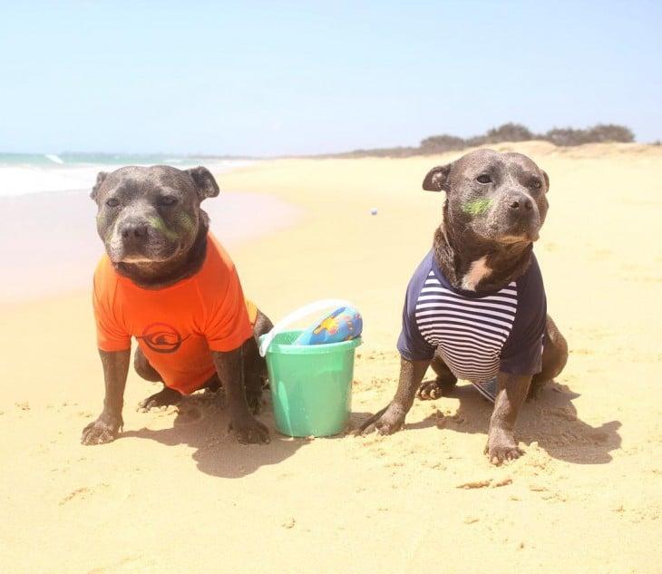 una tarde en la playa