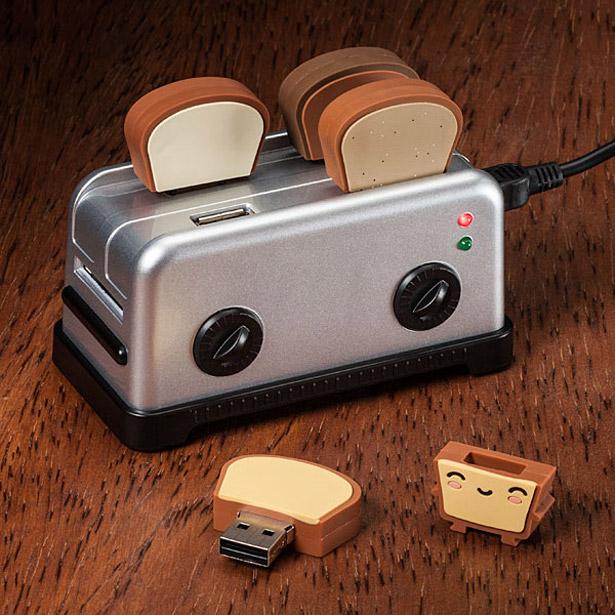 USB EN FORMA DE TOSTADOR