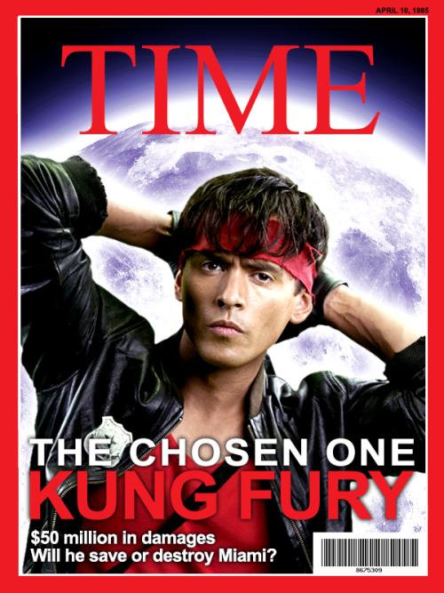 Kung Furia en la portada de la revista Time