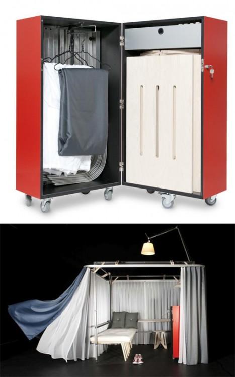 habitación portátil ideal para cualquier viajero