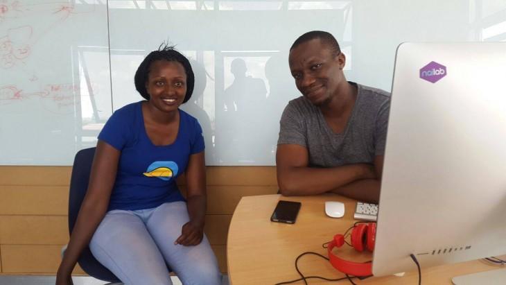 Seve Gat´s junto al empresario africano Nairobi Sam Gichuru