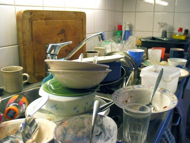 Cocina sucia
