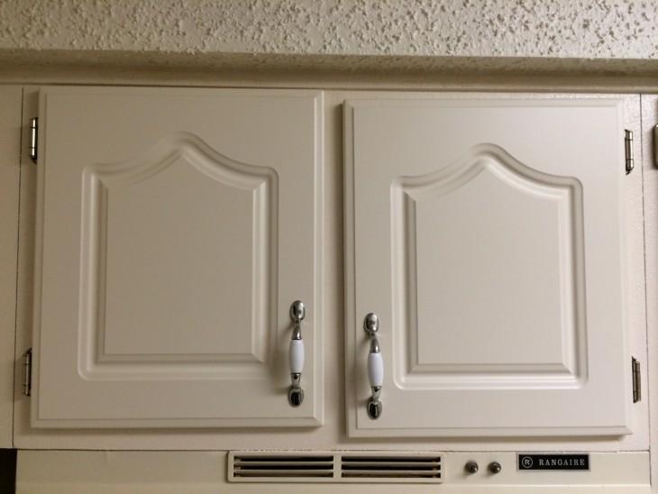 Los gabinetes de la cocina están chuecos