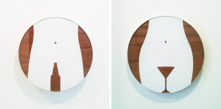 Los 22 Letreros de baño más creativos y divertidos