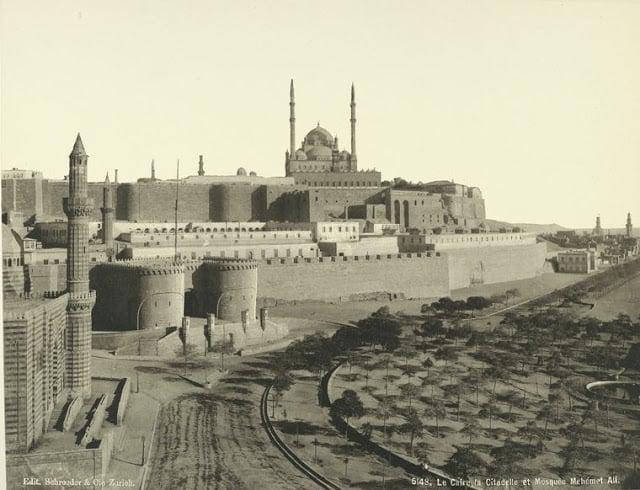 ciudadela y mezquita de muhammad ali
