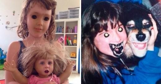 Face Swap de Snapchat más terroríficas y locas del Internet