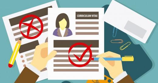 errores típicos en un currículum vitae