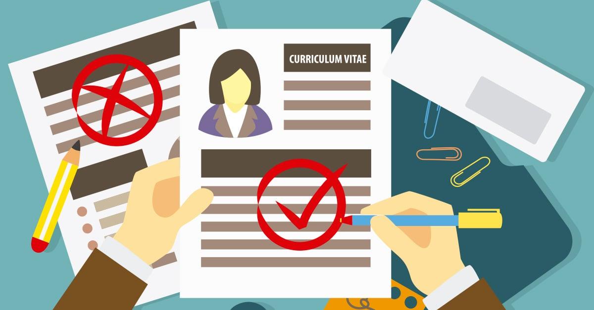 10 errores típicos en tu currículum que espantan a los empleadores