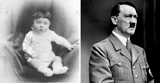 Fotografías de asesinos seriales cuando eran pequeños