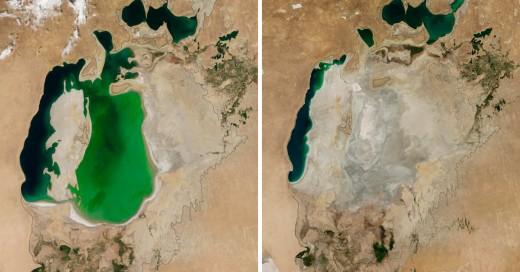 Fotografías de la tierra tomadas por la NASA