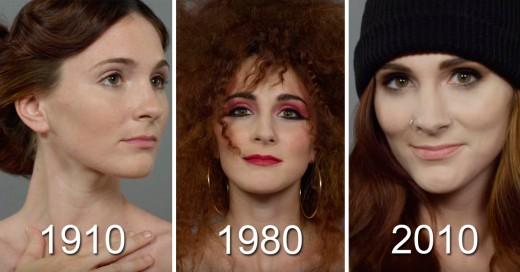 como han cambiado los estándares de belleza femenina en Irlanda en los últimos 100 años