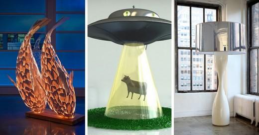 increíbles diseños de lamparas
